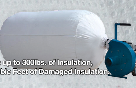 Heavy Duty Insulation Removal Vacuum Bags Duct Cleaners